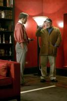 THE WALKER, Woody Harrelson, director Paul Schrader, on set, 2007. ©Pathe Films