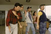 WAITING FOR GUFFMAN, Fred Willard, Eugene Levy, Matt Keeslar, Catherine O'Hara, Christopher Guest (front), 1996, (c) Sony Pictures Classics