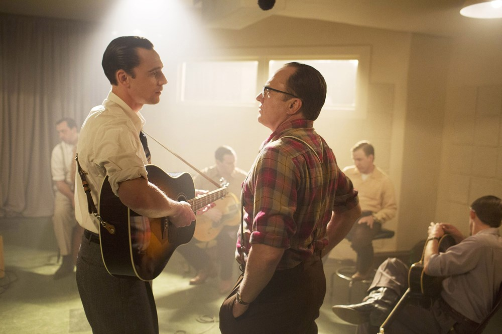 I SAW THE LIGHT, from left: Tom Hiddleston as Hank Williams, Bradley Whitford, 2015. ph: Sam Emerson/© Sony Pictures Classics