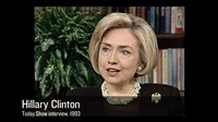 THE BRAINWASHING OF MY DAD, Hillary Clinton, Today Show interview, 1993, 2015. © Gravitas Ventures