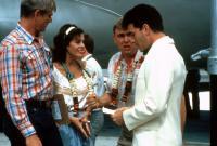 VOLUNTEERS, Tim Thomerson, Rita Wilson, John Candy, Tom Hanks, 1985, (c) TriStar