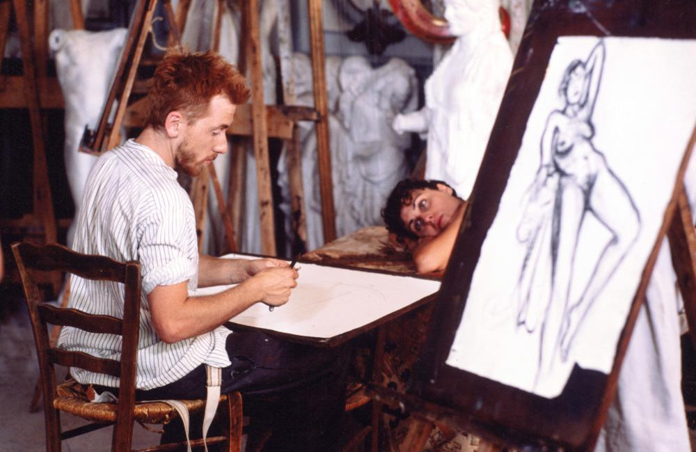 VINCENT & THEO, Tim Roth as Vincent Van Gogh (left), 1990, (c) Hemdale