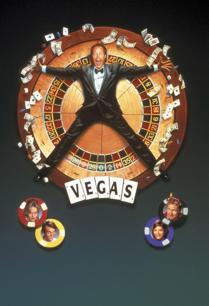 VEGAS VACATION, (top) Chevy Chase, Beverly D'angelo, Ethan Embry, Marisol Nichols, Randy Quaid, 1997, (c) Warner Brothers