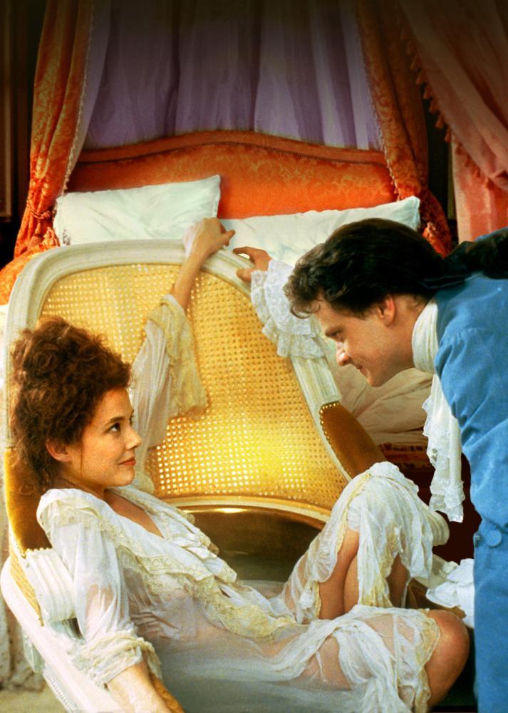 VALMONT, Annette Bening, Colin Firth, 1989, (c) Orion