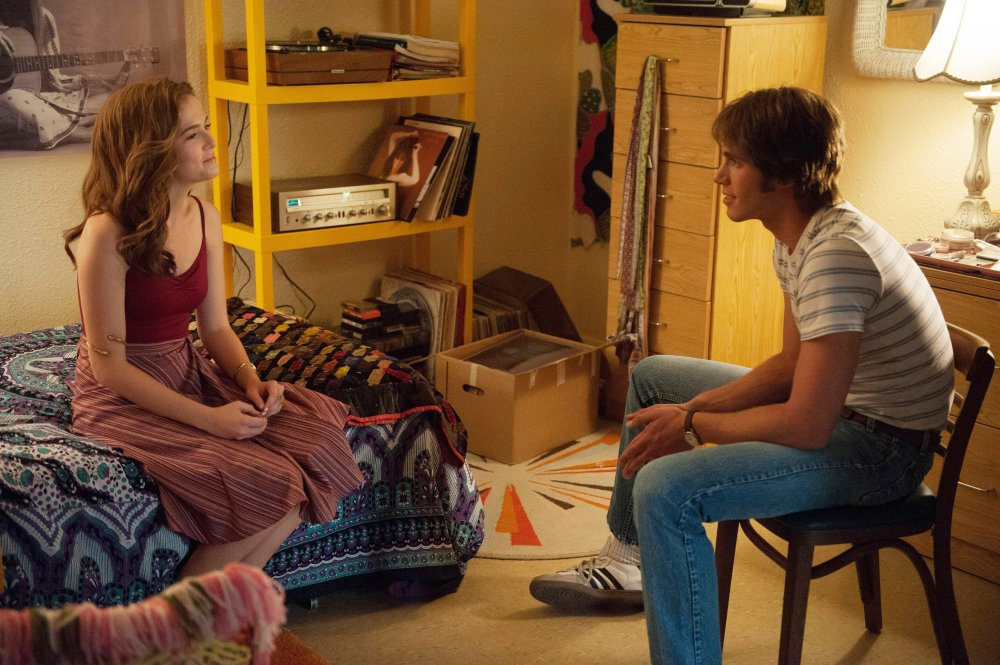 EVERYBODY WANTS SOME!!, from left: Zoey Deutch, Blake Jenner, 2016. ph: Van Redin/© Paramount Pictures