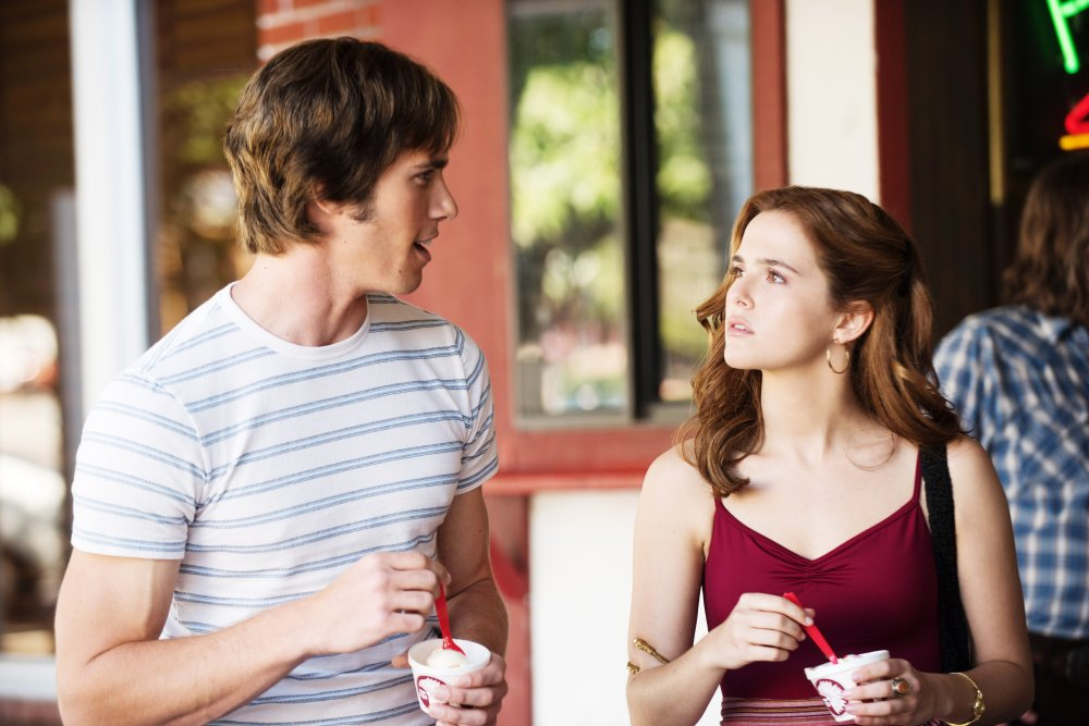 EVERYBODY WANTS SOME!!, from left: Blake Jenner, Zoey Deutch, 2016. ph: Van Redin/© Paramount Pictures