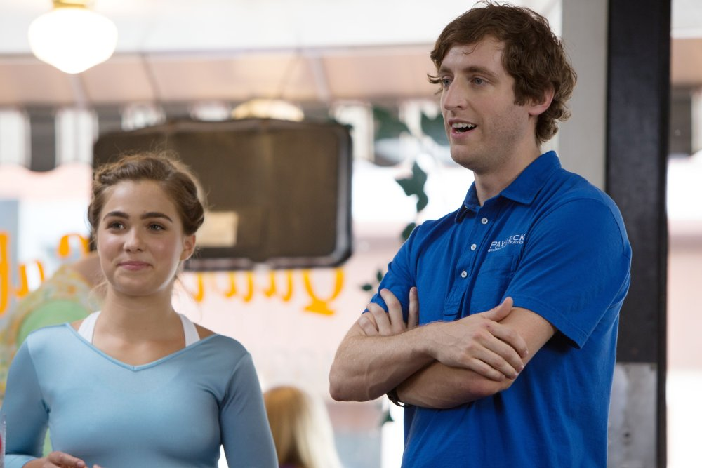 THE BRONZE, from left: Haley Lu Richardson, Thomas Middleditch, 2015. ph: Alicia Gbur/© Sony Pictures Classics