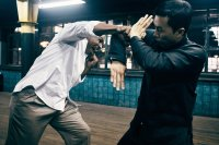 IP MAN 3, (aka YIP MAN 3), from left: Mike Tyson, Donnie YEN as Ip Man, 2015. © Well Go USA