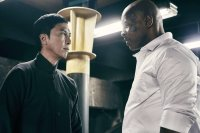 IP MAN 3, (aka YIP MAN 3), from left: Donnie YEN as Ip Man, Mike Tyson, 2015. © Well Go USA