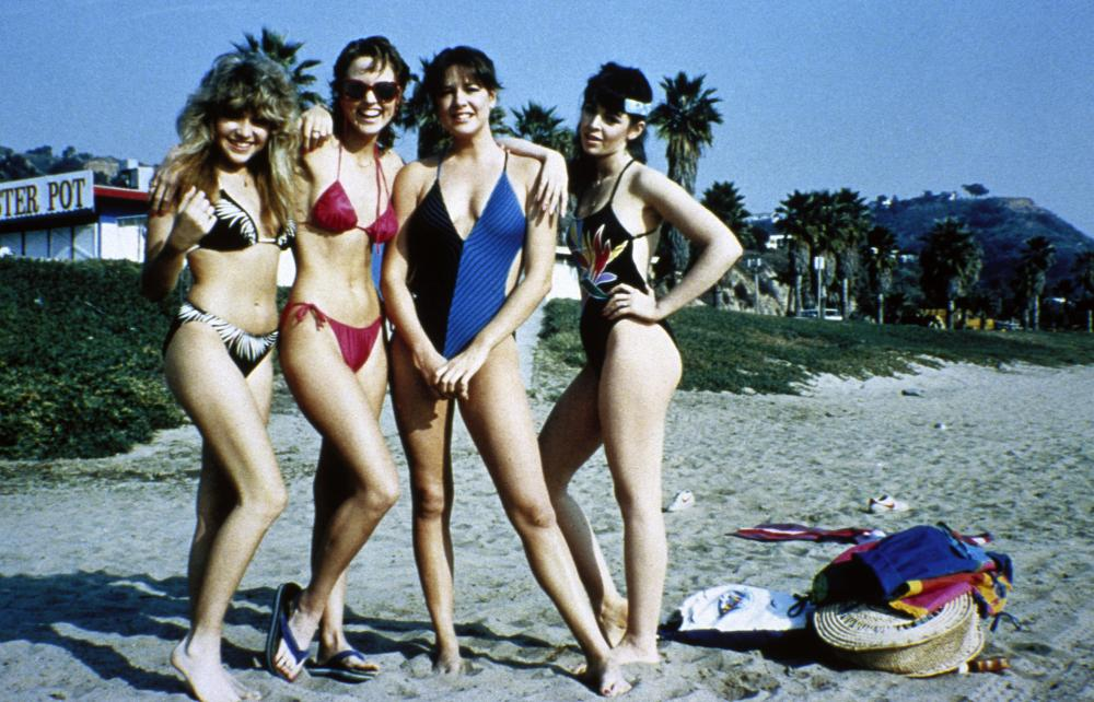 VALLEY GIRL, Elizabeth Daily, Deborah Foreman, Colleen Camp, 1983, ©Atlantic Releasing Corp.