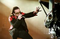 U2 3D, Bono, 2007. ©National Geographic