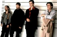 THE USUAL SUSPECTS, Kevin Pollak, Stephen Baldwin, Benico Del Toro, Gabriel Byrne, 1995, (c) Gramercy Pictures