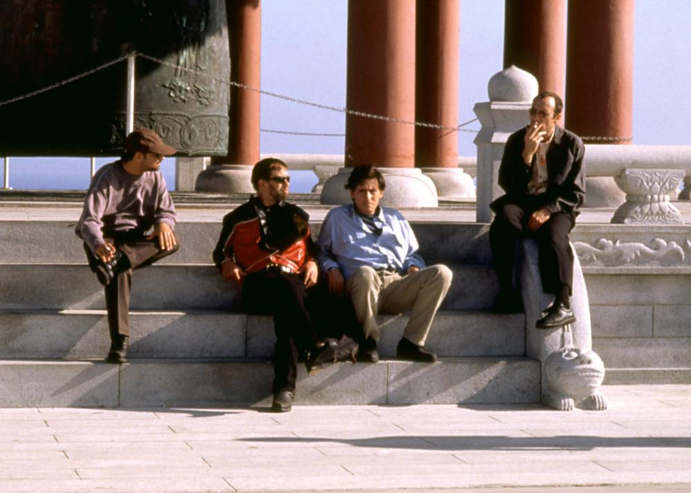 THE USUAL SUSPECTS, Kevin Pollak, Stephen Baldwin, Gabriel Byrne, Kevin Spacey, 1995, (c) Gramercy Pictures