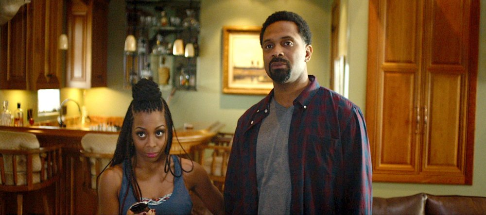 MEET THE BLACKS, from left: Bresha Webb, Mike Epps, 2016. © Freestyle Releasing