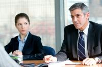 UP IN THE AIR, from left: Anna Kendrick, George Clooney, 2009. Ph: Dale Robinette/©DreamWorks Pictures
