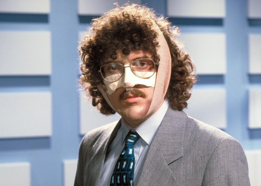 UHF, Weird Al Yankovic, 1989. ©Orion Pictures