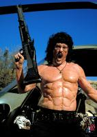 UHF, Weird Al Yankovic, as Rambo, 1989. ©Orion Pictures