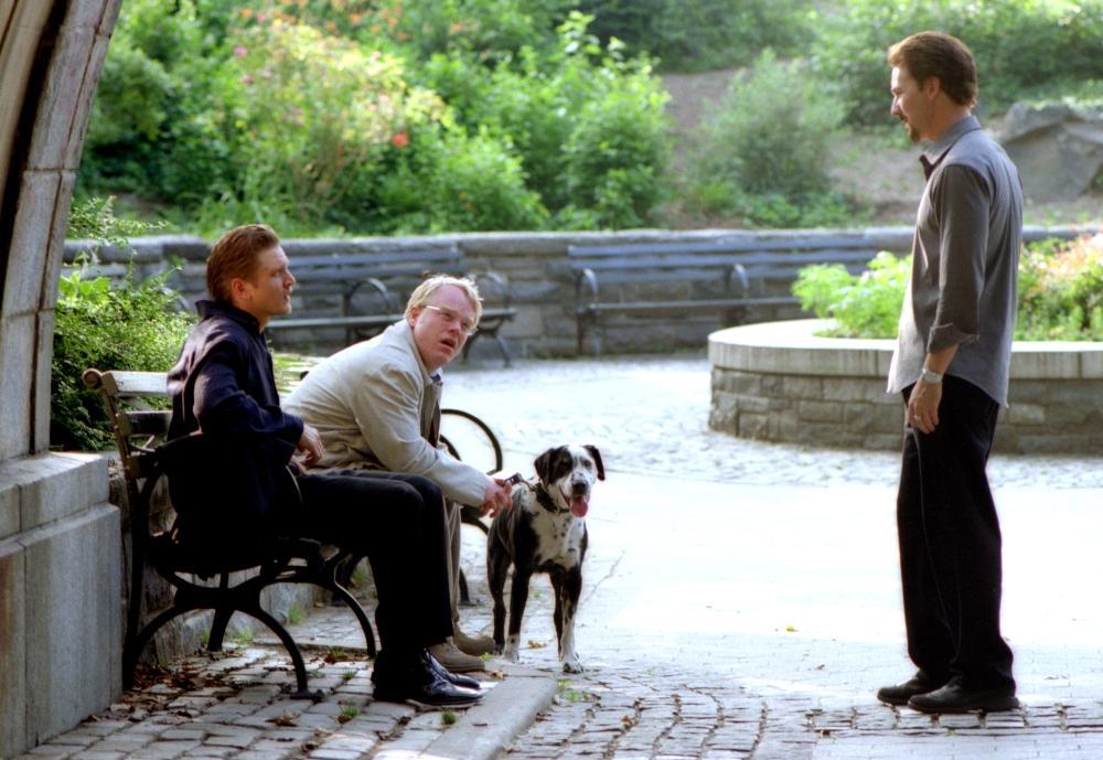 25TH HOUR, Barry Pepper, Philip Seymour Hoffman, Edward Norton, 2002, (c) Walt Disney