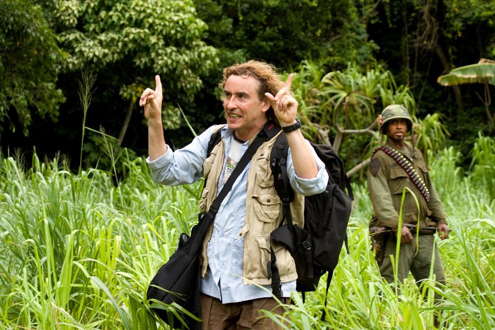 TROPIC THUNDER, from left: Steve Coogan, Robert Downey Jr., 2008. ©DreamWorks Distribution