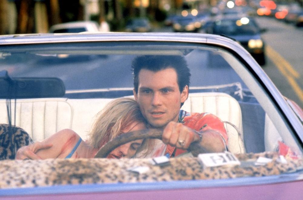 TRUE ROMANCE, Patricia Arquette, Christian Slater, 1993, (c) Warner Brothers