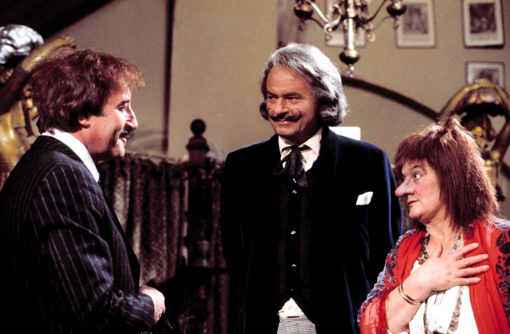 TRAIL OF THE PINK PANTHER, Peter Sellers, Harvey Korman, Liz Smith, 1982, (c) United Artists