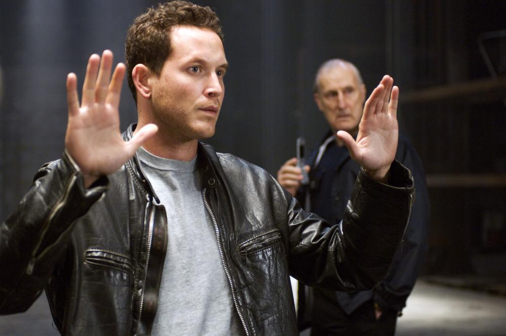TORTURED, from left: Cole Hauser, James Cromwell, 2008. ©Sony Pictures