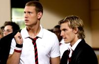 TORMENTED, from left: Tom Hopper, Alex Pettyfer, 2009. Ph: Nick Wall/©DreamWorks Distribution