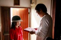 TOKYO!, from left: Yu Aoi, Teruyuki Kagawa, segment 'Shaking Tokyo', directed by BONG Joon-ho, 2008. ©Liberation Entertainment