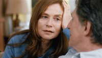 LOUDER THAN BOMBS, from left: Isabelle Huppert, Gabriel Byrne, 2015. © The Orchard