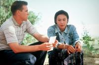 THUNDERHEART, from left: Val Kilmer, Sheila Tousey, 1992. ©TriStar Pictures