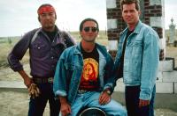 THUNDERHEART, Graham Greene (left), Val Kilmer (right), 1992. ©TriStar Pictures