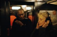 35 SHOTS OF RUM, (aka 35 RHUMS), from left: Alex Descas, director Claire Denis, on set, 2008. ©The Cinema Guild
