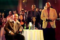 THIS CHRISTMAS, Columbus Short, Sharon Leal, Keith Robinson (standing), Lauren London (sitting), Mekhi Phifer, 2007. ©Screen Gems