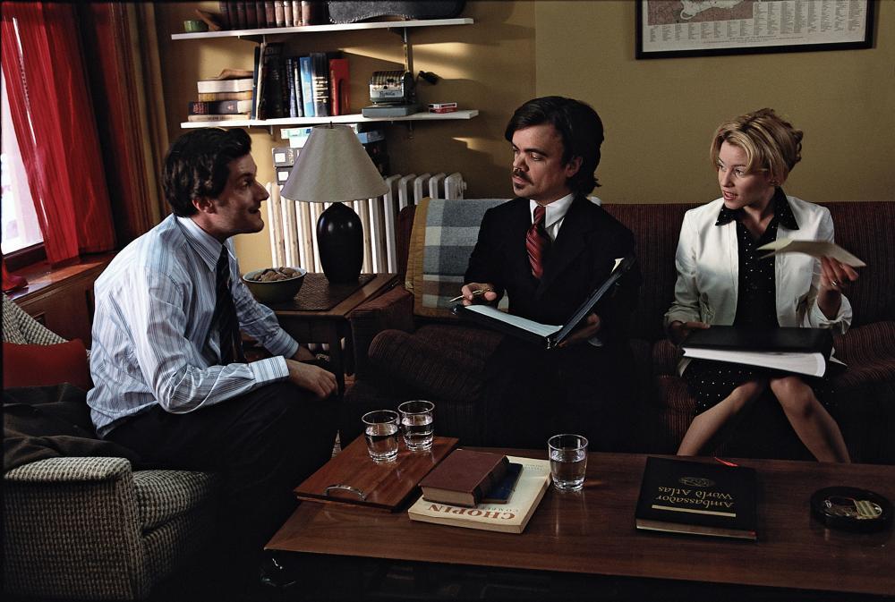 THE BAXTER, Michael Showalter, Peter Dinklage, Elizabeth Banks, 2005, (c) IFC Films