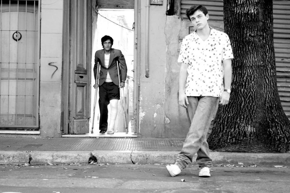 TETRO, from left: Vincent Gallo, Alden Ehrenreich, 2009. ©American Zoetrope