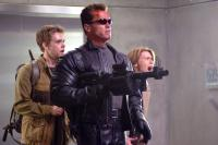TERMINATOR 3: RISE OF THE MACHINES, Nick Stahl, Arnold Schwarzenegger, Claire Danes, 2003, (c) Warner Brothers