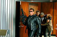 TERMINATOR 3: RISE OF THE MACHINES, Arnold Schwarzenegger, Nick Stahl, David Andrews, Claire Danes, 2003, (c) Warner Brothers