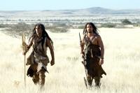 10,000 BC, Cliff Curtis, Steven Strait, 2008. ©Warner Bros.