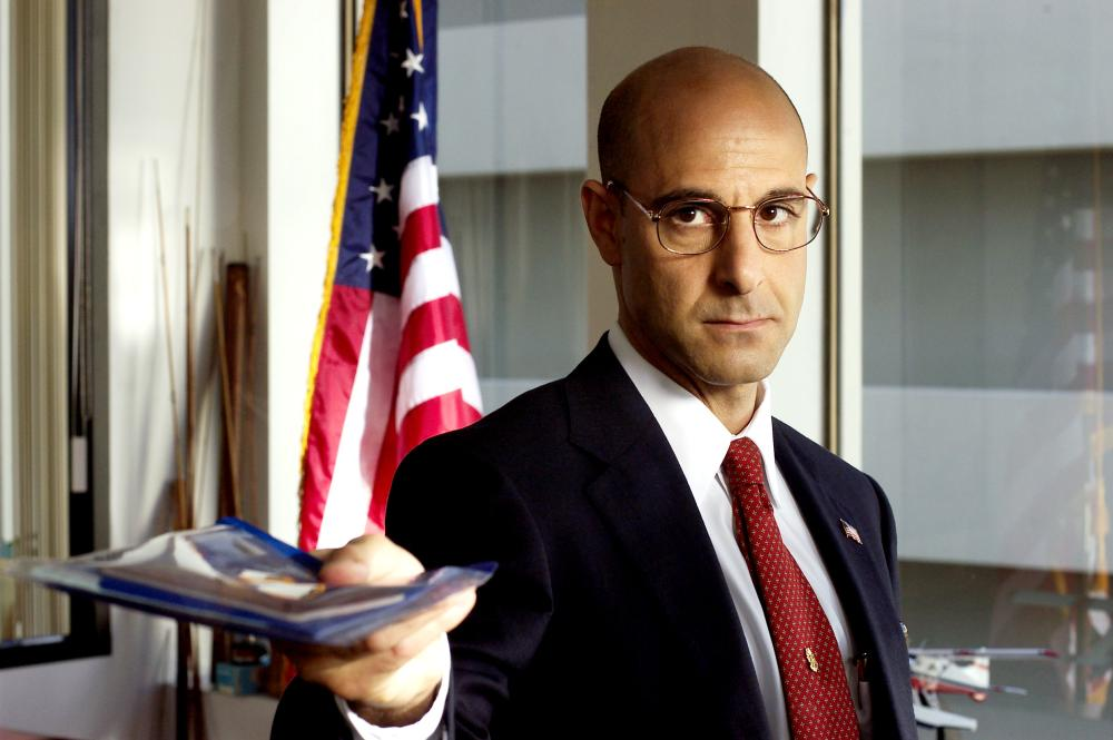 THE TERMINAL, Stanley Tucci, 2004, (c) DreamWorks