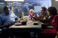 THE TERMINAL, Chi McBride, Kumar Pallana, Tom Hanks, Diego Luna, 2004, (c) DreamWorks