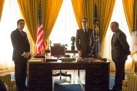 ELVIS & NIXON, l-r: Evan Peters (as Dwight Chapin), Colin Hanks (as Egil Krogh), Kevin Spacey (as Richard Nixon), 2016. ph: Steve Dietl/©Bleecker Street Media