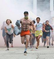 NEIGHBORS 2: SORORITY RISING, l-r: Chloe Grace Moretz, Seth Rogen, Kiersey Clemons, Beanie Feldstein, 2016. ph: Chuck Zlotnick/©Universal Pictures