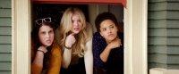 NEIGHBORS 2: SORORITY RISING, l-r: Beanie Feldstein, Chloe Grace Moretz, Kiersey Clemons, 2016. ph: Chuck Zlotnick/©Universal Pictures