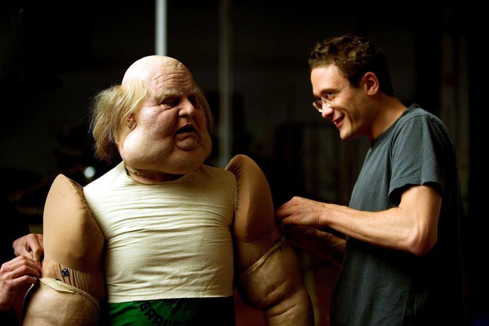 TAXIDERMIA, Gabor Mate (left), on set, 2006. ©Tartan Films