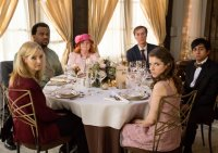 TABLE 19, from left: Lisa Kudrow, Craig Robinson, June Squibb, Stephen Merchant, Anna Kendrick, Tony Revolori, 2017. ph: Jace Downs/TM & copyright © Fox Searchlight Pictures. All rights reserved