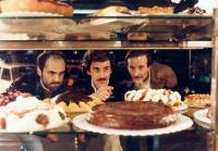 SWEET DREAMS, (aka SOGNI D'ORO), first two from left: Alessandro Haber, Nanni Moretti, 1981