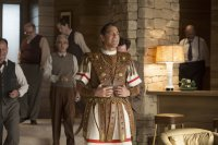 HAIL, CAESAR!, George Clooney (front), Fred Melamed (right), 2016. ph: Alison Cohen Rosa/© Universal Pictures