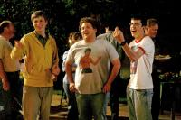 SUPERBAD, Michael Cera, Jonah Hill, Christopher Mintz-Plasse, 2007. ©Columbia Pictures