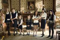 ST. TRINIAN'S, from left: Tamsin Egerton, Lily Cole, Holly Mackie, Cloe Mackie, Kathryn Drysdale, Gemma Arterton, Paloma Faith, 2007, ©NeoClassics Films
