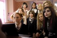 ST. TRINIAN'S, Lily Cole (seated at computer), back row from left: Gemma Arterton, Armara Karan, Antonia Bernath, Tamsin Egerton, Juno Temple (front row second from right), Paloma Faith (front row right), 2007, ©NeoClassics Films